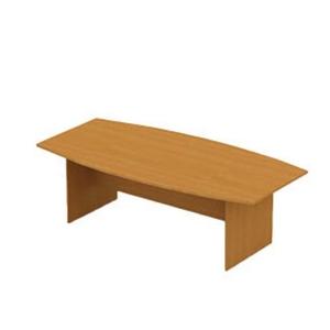 BOAT SHAPE MEETING TABLE / BMB 2412